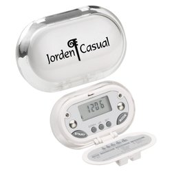 View a larger, more detailed picture of the Gemstone BMI & Body Fat Pedometer