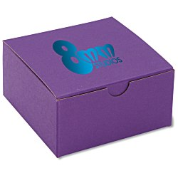 View a larger, more detailed picture of the Gift Box - 4 x 4 x 2 - Tinted Kraft