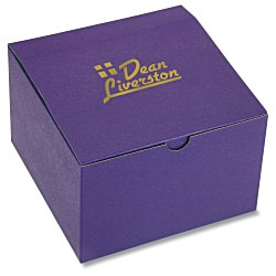 View a larger, more detailed picture of the Gift Box - 6 x 6 x 4 - Tinted Kraft