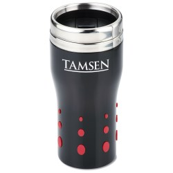 View a larger, more detailed picture of the Stainless Dot Matrix Tumbler - 16 oz