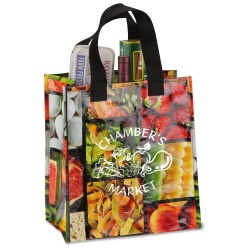 View a larger, more detailed picture of the PhotoGraFX Grocery Tote - Foodies