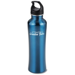 View a larger, more detailed picture of the h2go Freedom Stainless Steel Sport Bottle - 24 oz