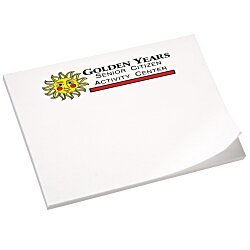 View a larger, more detailed picture of the Post-it&reg Notes - 3 x 4 - 50 Sheet - White - Recycled