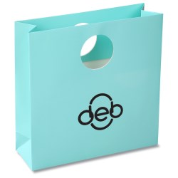 View a larger, more detailed picture of the Round Handle Gift Bag - Solid