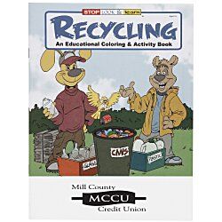 View a larger, more detailed picture of the Recycling Coloring Book