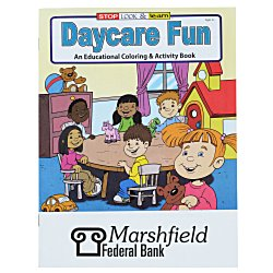 View a larger, more detailed picture of the Daycare Fun Coloring Book