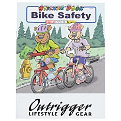 View a larger, more detailed picture of the Bike Safety Sticker Book