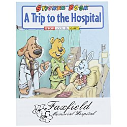 View a larger, more detailed picture of the A Trip To The Hospital Sticker Book