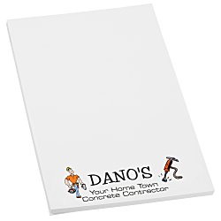 View a larger, more detailed picture of the Post-it&reg Notes - 6 x 4 - 50 Sheet - White - Recycled
