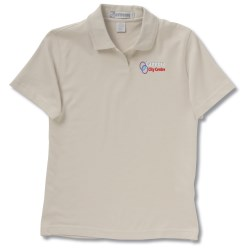 View a larger, more detailed picture of the EDRY Interlock Polo - Ladies