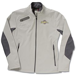 View a larger, more detailed picture of the 3-Layer Weather Technology Soft Shell Jacket - Ladies