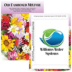 View a larger, more detailed picture of the Standard Series Seed Packet - Old Fashioned Mix