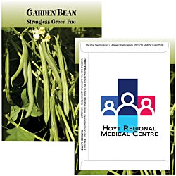 View a larger, more detailed picture of the Standard Series Seed Packet - Garden Bean Stringless