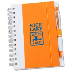 View a larger, more detailed picture of the  Take Notice Spiral Notebook & Pen