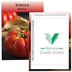 View a larger, more detailed picture of the Standard Series Seed Packet - Tomato
