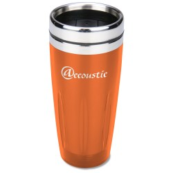 View a larger, more detailed picture of the Stainless Translucent Metro Tumbler - 16 oz