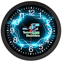 View a larger, more detailed picture of the Slim Wall Clock - 12