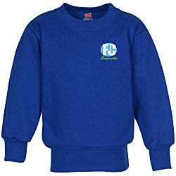 View a larger, more detailed picture of the Hanes ComfortBlend Sweatshirt - Youth - Embroidered