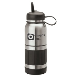 View a larger, more detailed picture of the Casoria Stainless Bottle - 34 oz - Closeout