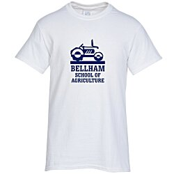 View a larger, more detailed picture of the Gildan 6 oz Ultra Cotton T-Shirt - Men s - Screen - White