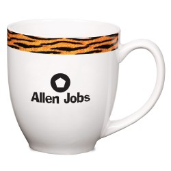 View a larger, more detailed picture of the Kansas Mug - Tiger Stripe - 16 oz