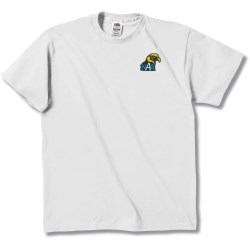 View a larger, more detailed picture of the Fruit of the Loom Best 50 50 T-Shirt - Embroidered - White