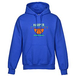 View a larger, more detailed picture of the Gildan 50 50 Heavyweight Hoodie - Applique Felt - Colors