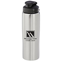 View a larger, more detailed picture of the Cruz Stainless Bottle - 26 oz - 24 hr