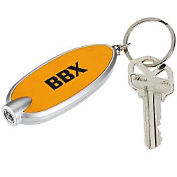 View a larger, more detailed picture of the Bright Light Key Tag