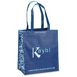 View a larger, more detailed picture of the Expressions Grocery Tote - Blue