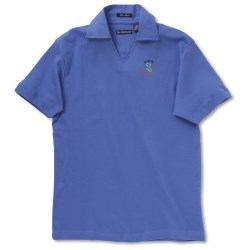 View a larger, more detailed picture of the Blue Generation Pima Polo - Ladies - Closeout