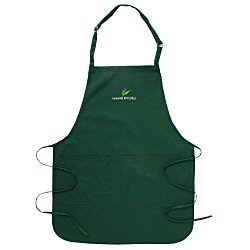 View a larger, more detailed picture of the Stain Release Bib Apron with Teflon Finish