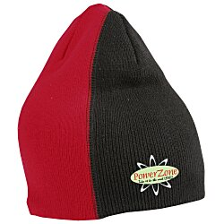 View a larger, more detailed picture of the Fine Knit Off Center Beanie