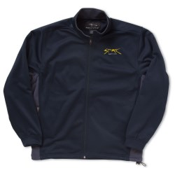 View a larger, more detailed picture of the Page & Tuttle Color Block Microfleece Jacket - Men s