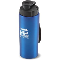 View a larger, more detailed picture of the Easy-Grip Stainless Steel Bottle - 18 oz