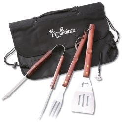 View a larger, more detailed picture of the Grill Mate BBQ Set