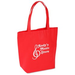 View a larger, more detailed picture of the Bottom Gusset Polypropylene Shopper - 15 x 14