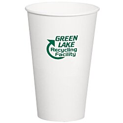 View a larger, more detailed picture of the Compostable Solid Cup - 16 oz - Low Qty