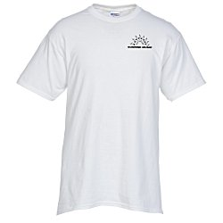 View a larger, more detailed picture of the Jerzees Blend 50 50 T-Shirt - Men s - White - Screen