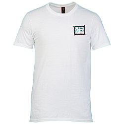 View a larger, more detailed picture of the Anvil Ringspun 4 5 oz T-Shirt - Men s - White