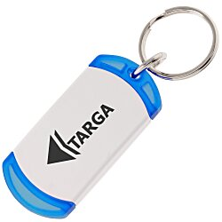 View a larger, more detailed picture of the On The Edge Key Chain - Translucent