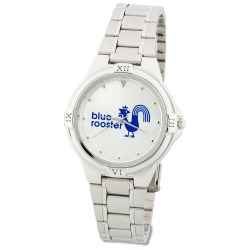 View a larger, more detailed picture of the Silver Designer Watch - Men s