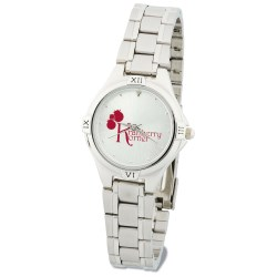 View a larger, more detailed picture of the Silver Designer Watch - Ladies
