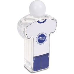 View a larger, more detailed picture of the Body Shape Hand Sanitizer - Sport Uniform