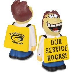 View a larger, more detailed picture of the  Service Rocks Stress Reliever