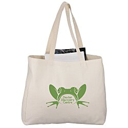 View a larger, more detailed picture of the Classic Cotton All Purpose Shopping Tote - 24 hr