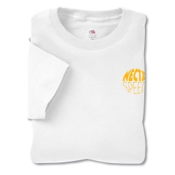View a larger, more detailed picture of the FOL 6 1 oz Cotton Lofteez Tee - White