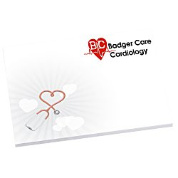 View a larger, more detailed picture of the Bic Sticky Note - Designer - 3x4 - Heart - 50 Sheet