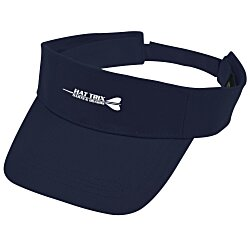 View a larger, more detailed picture of the Cotton Twill Lightweight Visor - Screen