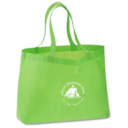 View a larger, more detailed picture of the Bottom Gusset Polypropylene Shopper - 12 x 20